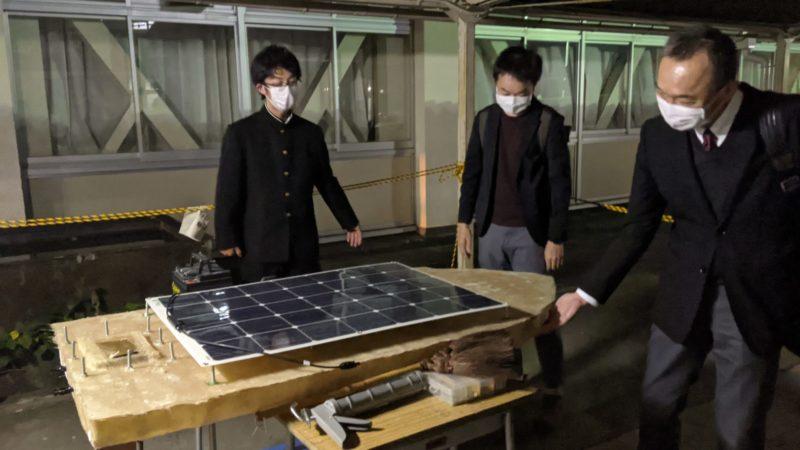 ジュニアプロコン受賞者・松本さんと協賛企業のヤマハ発動機さんとの意見交換会がありました